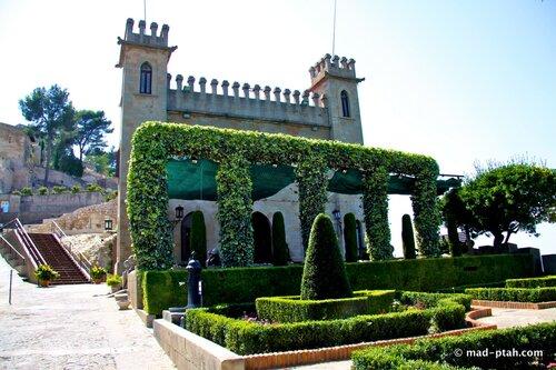 хатива, гуадалест, испания