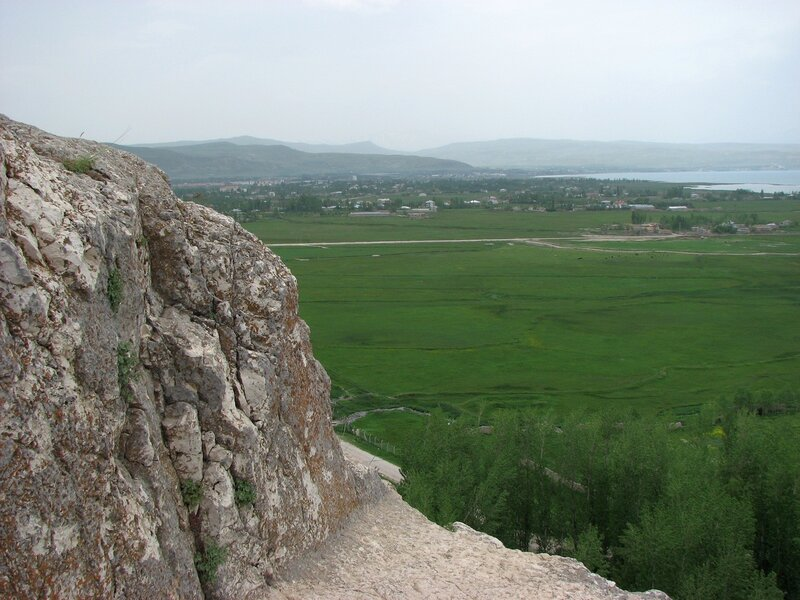 Ванская крепость. Вид на Ван