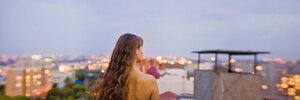 Последний Вечер лета портрет, панорамный портрет, девушка, вечер, закат, лето,НЮ