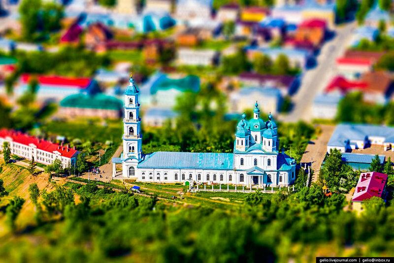 Игрушечная Россия | Toy like Russia (64 фотографии с эффектом миниатюры)