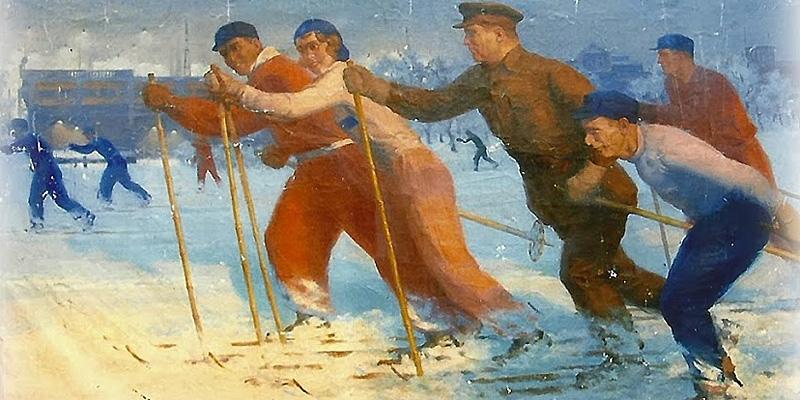 Дормидонтов-Николай-Иванович-(Россия,-1898-1962)-«Киров-на-лыжной-прогулке»-1937.jpg
