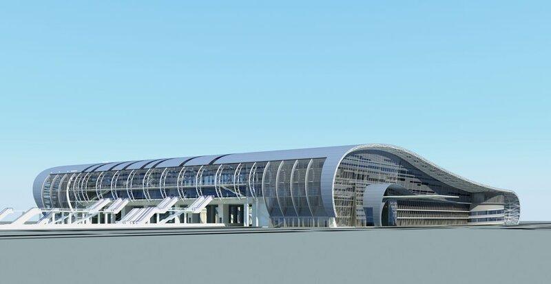 Адлер. Новый вокзал