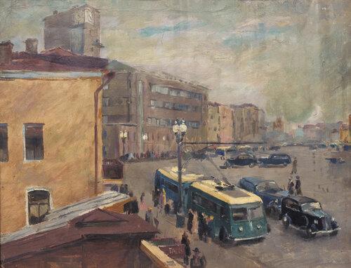 Б. И. Урманче. Садовая. 1935.