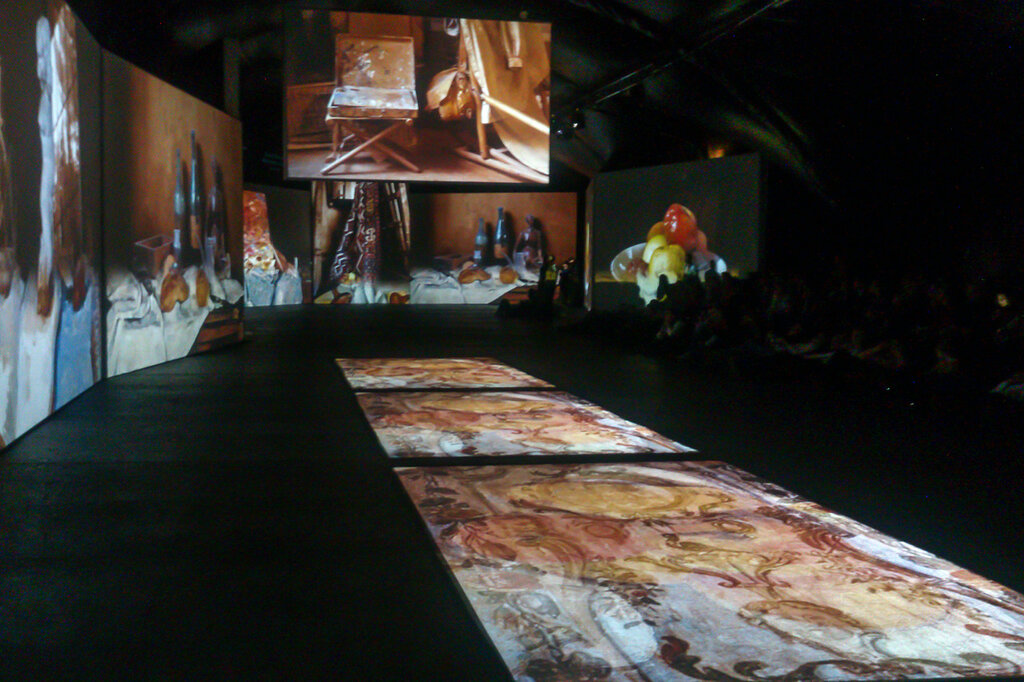 2015.04.04 - Москва. ArtPlay. Французские импрессионисты от Моне до Сезанна. Экспозиция. Фрагмент 1