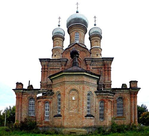 Храм Архистратига Михаила в селе Позднеевка Ростовской области.