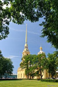 Еще одна скучная открытка (лето, Петербург, Петропавловский собор)