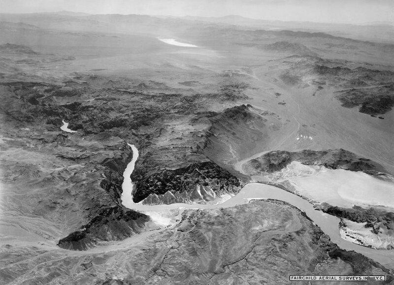Hoover Dam Site 1931