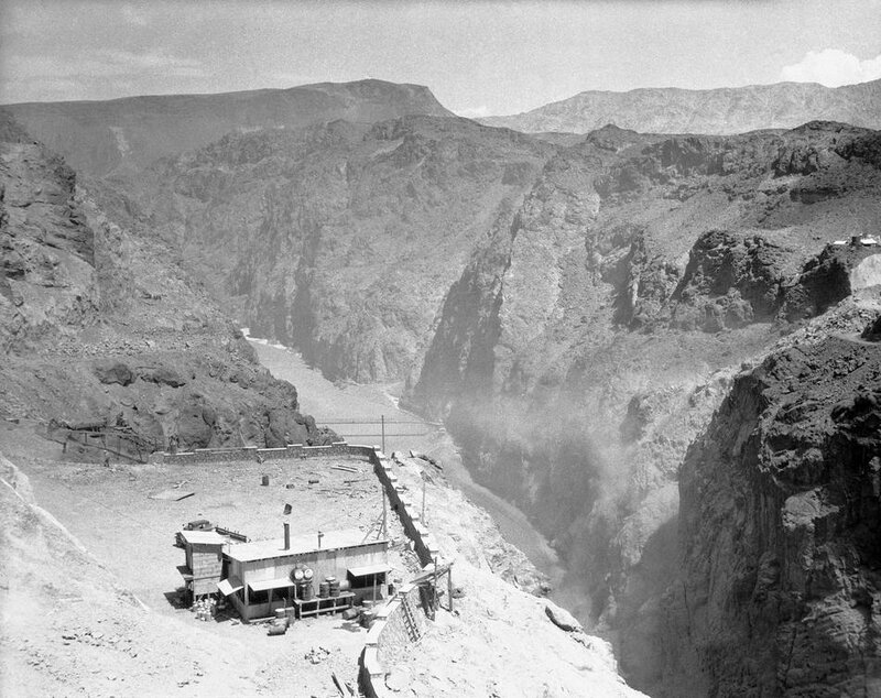 Hoover Dam Construction 1932