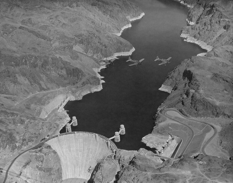 Hoover Dam 1948