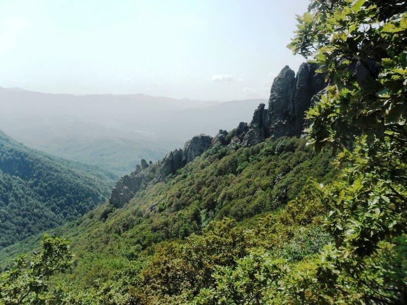 На тропе к Индюку, сентябрь 2011