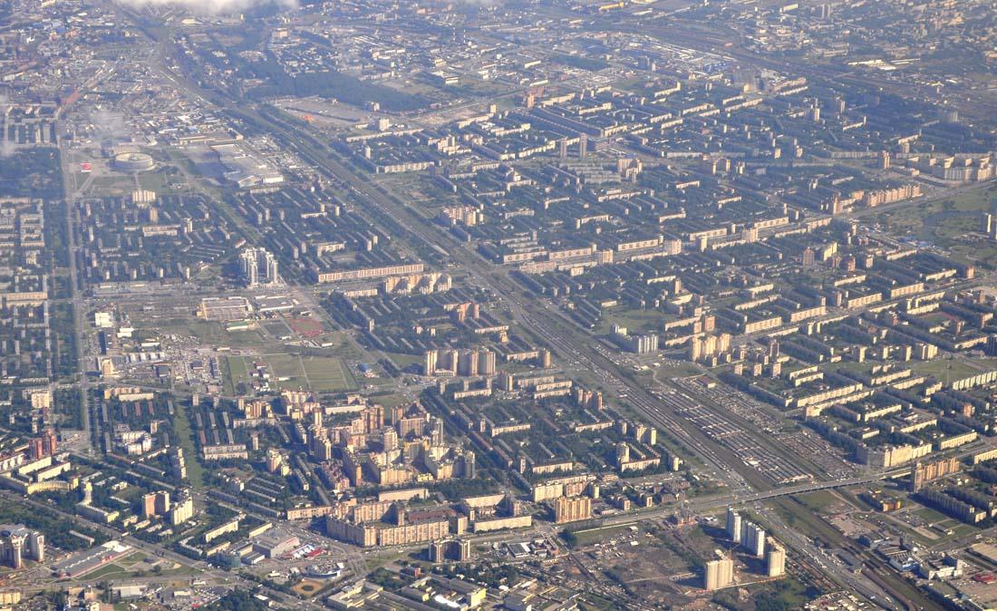 Петербург (юг) с самолета 1100.jpg