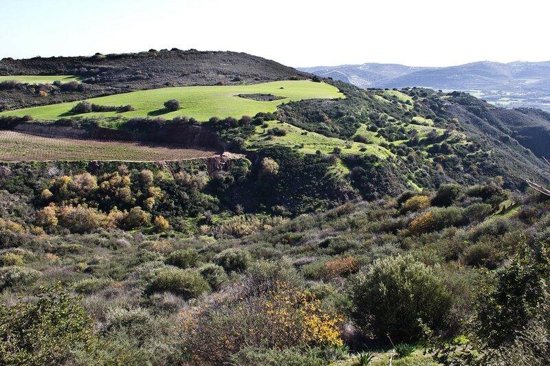пейзаж на Кипре