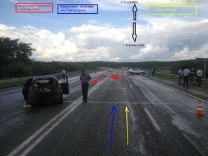 В Приморье в ДТП погиб пассажир Toyota Crown