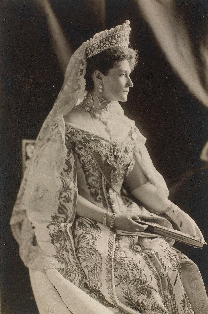 1908. Александра Федоровна