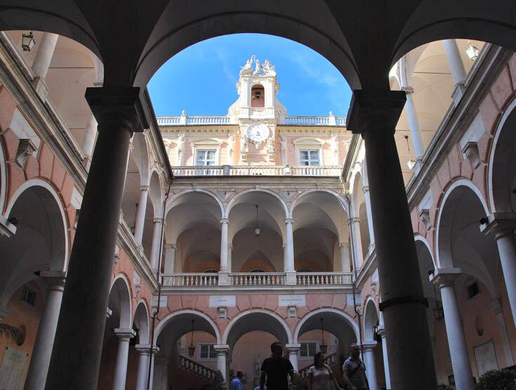 Палаццо Бьянко, Генуя