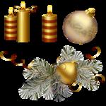 Высококачественный новогодний клипарт