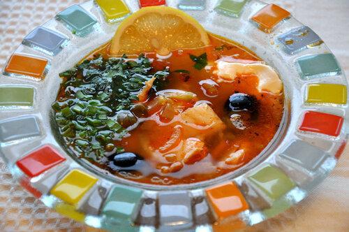 Рыбное - кальи, похмелки, солянки