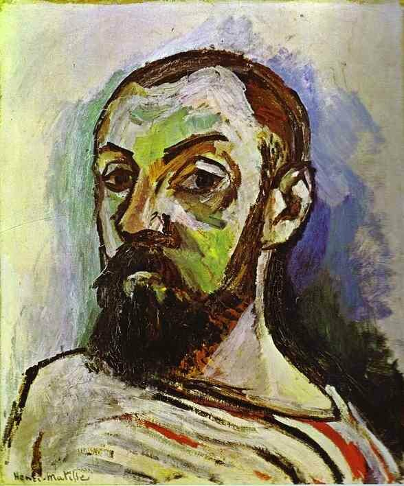 Henri Matisse Self-Portrait in a Striped T-shirt (1906)