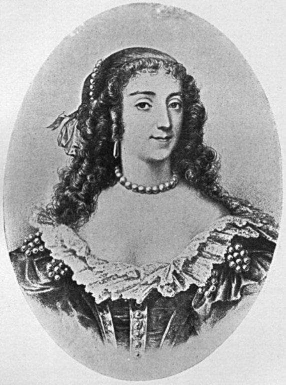 Мария Эме де Роган-Монбазон, герцогиня де Шеврёз   (1600--1679)    Marie de Rohan-Montbazon, Duchesse de Chevreuse