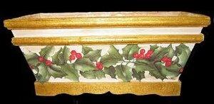 декупаж кашпо для цветов