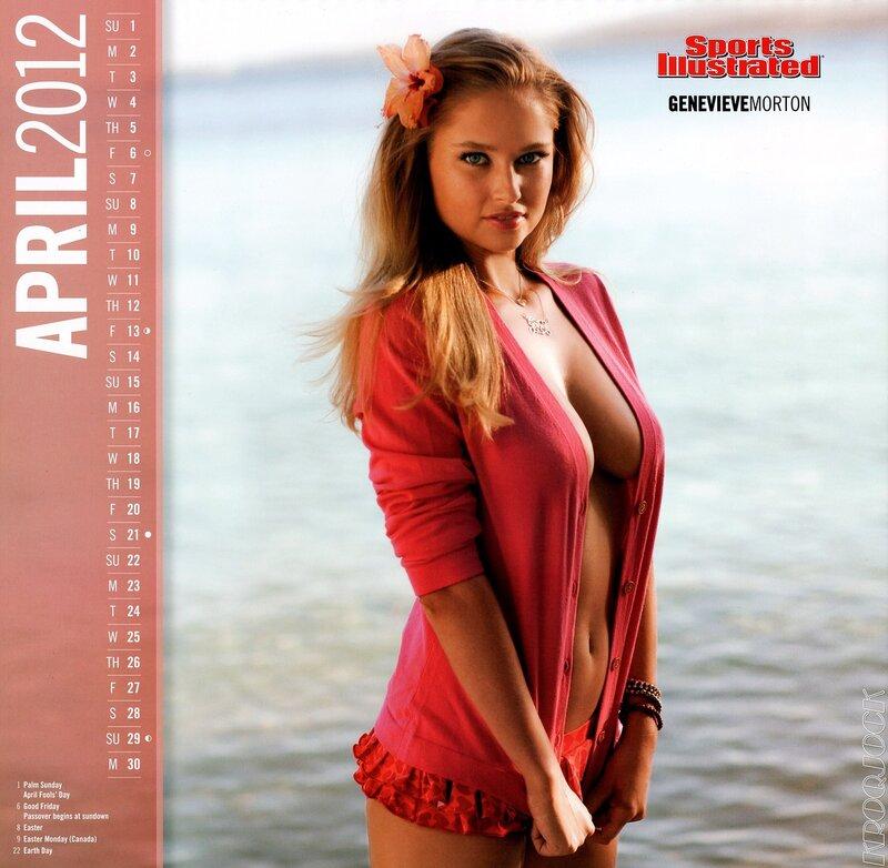 Sports Illustrated Swimsuit Edition 2012 calendar - Genevieve Morton / Женевьева Мортон - кликабельно, 9 мегапикселей