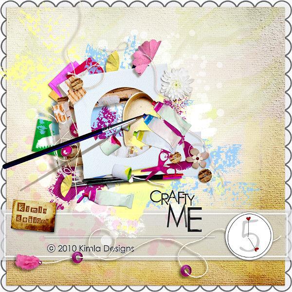 Скрап-набор Crafty me