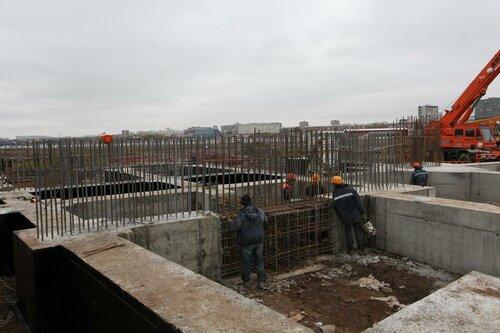 Стадион Спартак ноябрь 2011