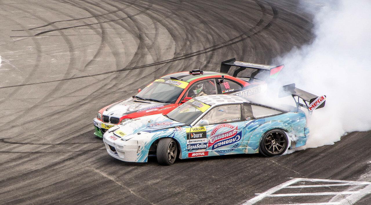 Сергей Сак (BMW) vs Дмитрий Нагула (Nissan)