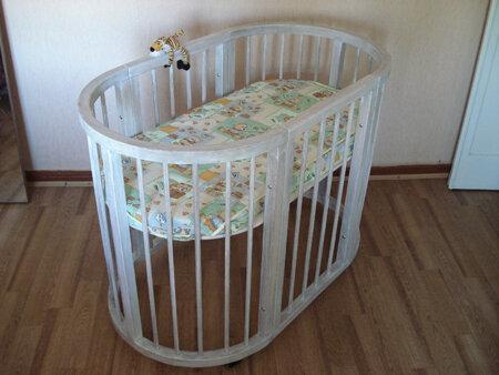 Общая схема детской кроватки.  Размер: 85...  Изначально это детская кроватка.  SLEEPI компании Stokke сделанная...