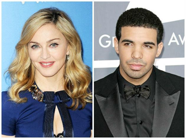 Певица Мадонна призналась в том, что запала на Дрейка