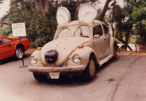 Машинка с тюненгом - аля мышка