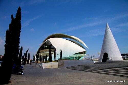 валенсия, испания, оперный театр