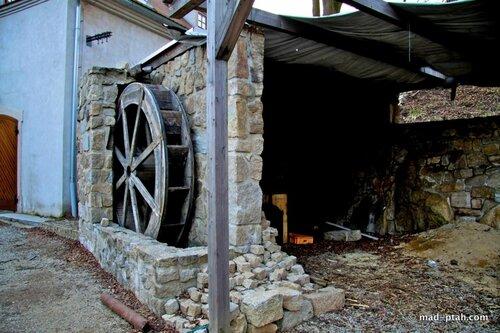 чехия, телч, водяная мельница