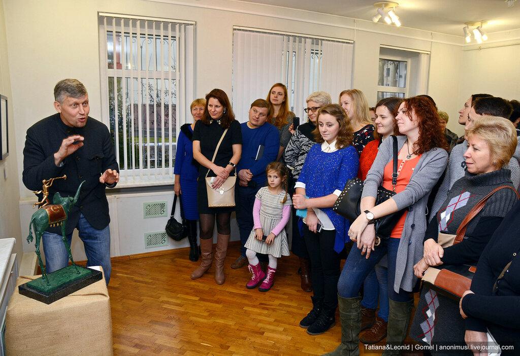 Выставка Сальвадор Дали и Пабло Пикассо в Гомеле. Картинная галерея Г.Х.Ващенко