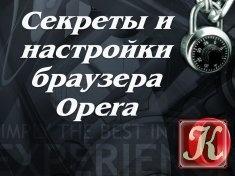 Книга Книга Секреты и настройки браузера Opera