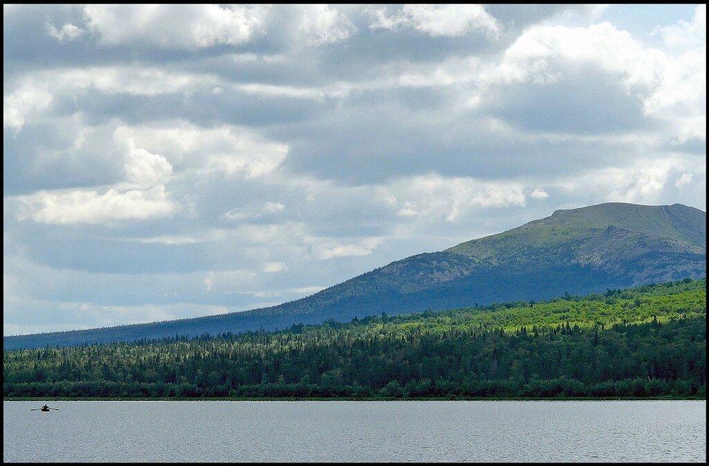 На озере Зюраткуль.