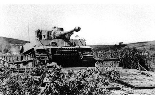 Район Пушкарного в годы войны, на заднем плане - место крушения неизвестного лётчика
