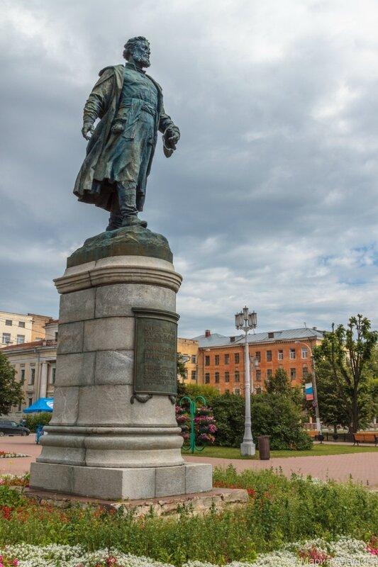 Памятник Афанасию Никитину, Тверь