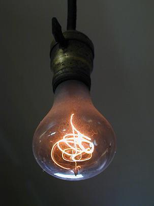 угольная лампочка картинки