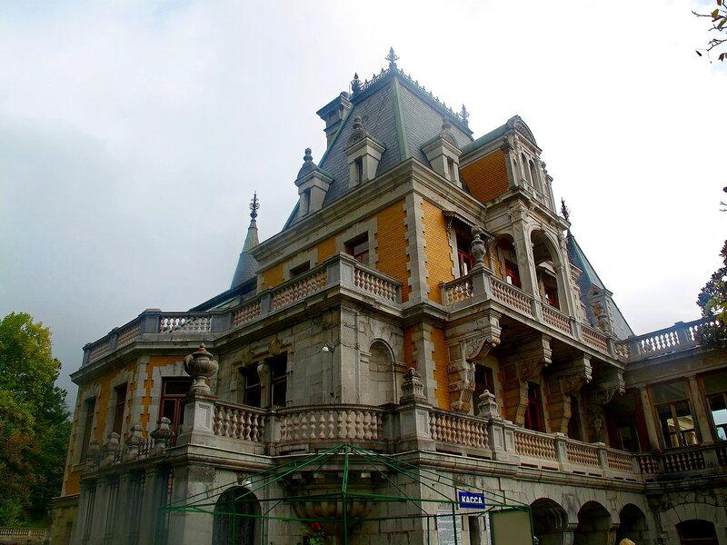 Крым,Массандра,дворец