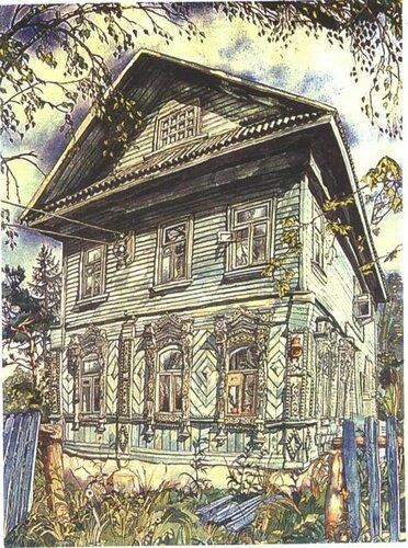 Картина художника Михаила Ромадина