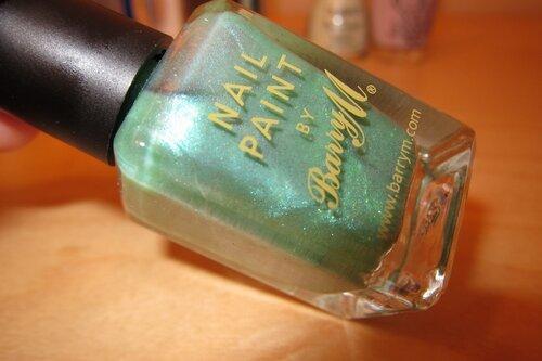 Barry M Aqua Green