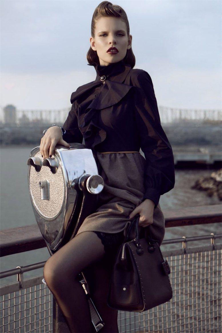 модель Кэт Хессен / Kat Hessen, фотограф Alexander Neumann