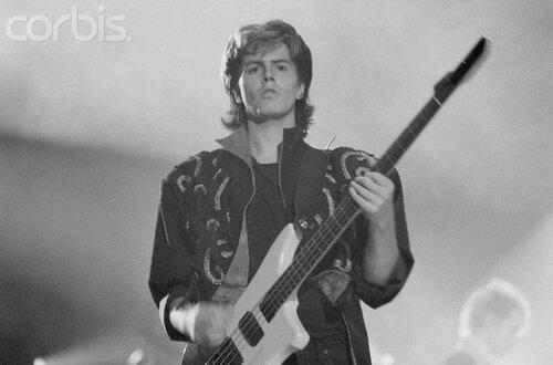 Duran Duran Bassist John Taylor in Concert