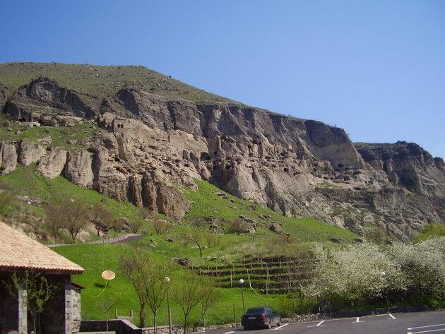 Пещерный город Вардзиа. Грузия