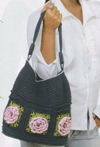 Вязаная летняя сумка крючком.  Не секрет, что летом женщина мечтает.