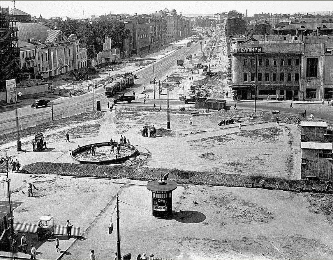 1930-е. Площадь Маяковского