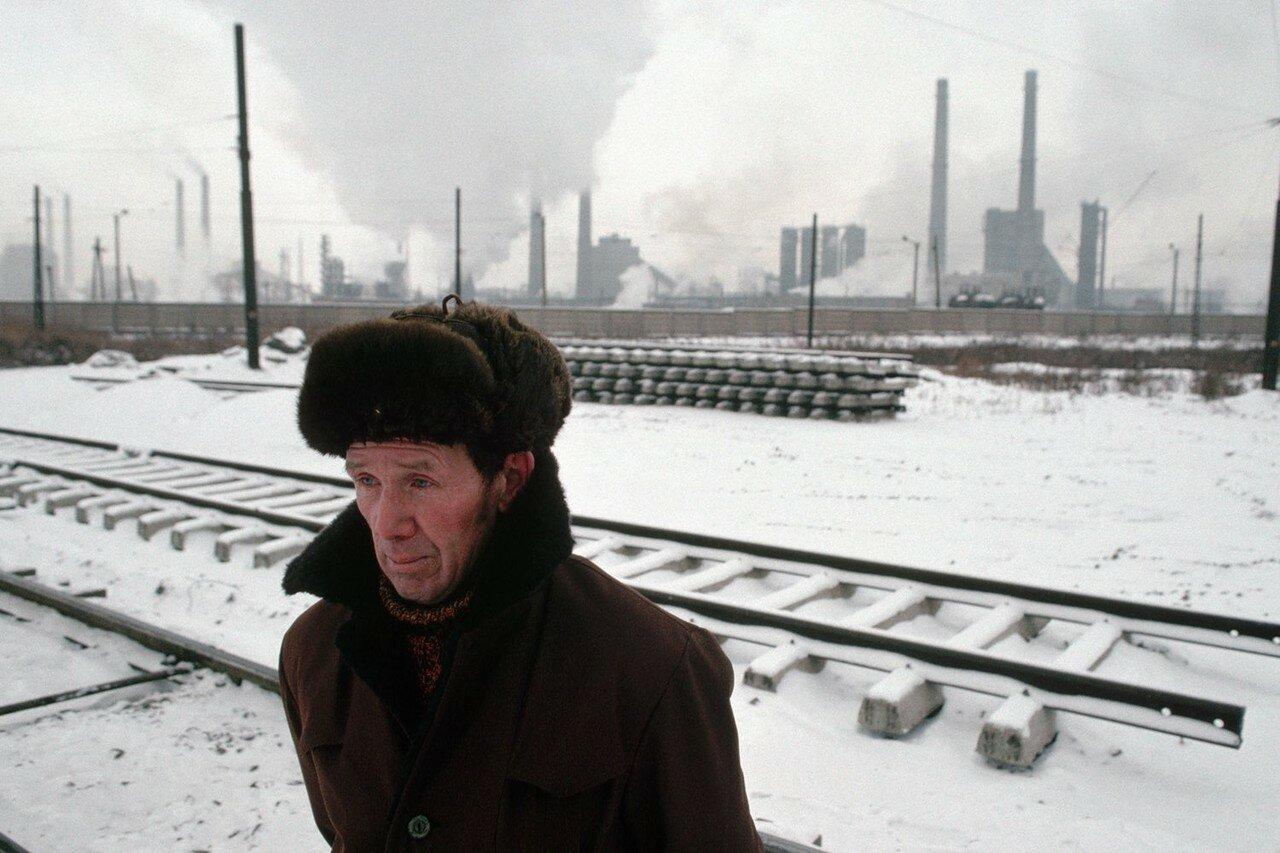 1991. Челябинск. Холодно