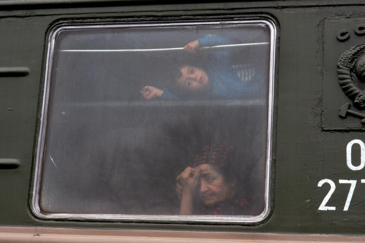 1994. Беженцы из Чечни