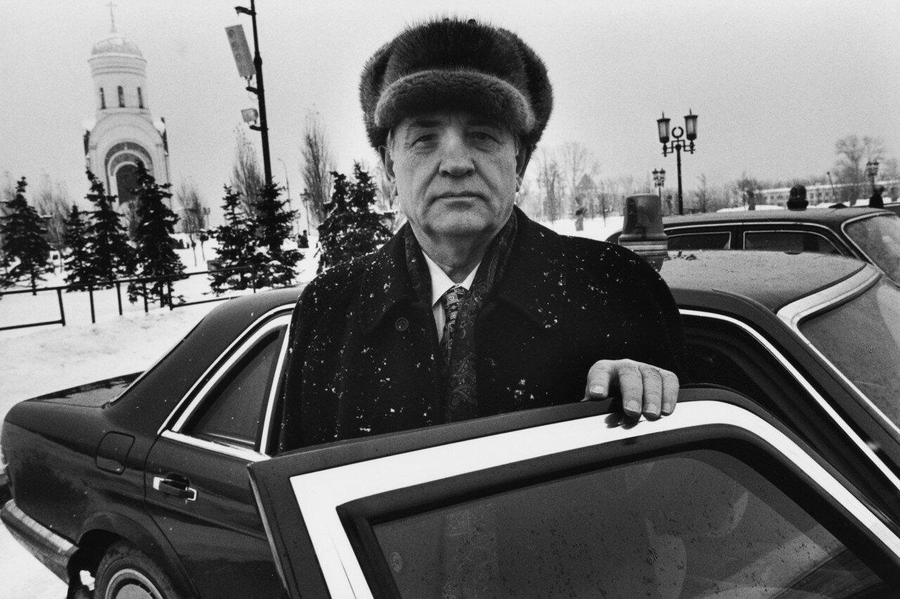1999. Москва. Горбачев